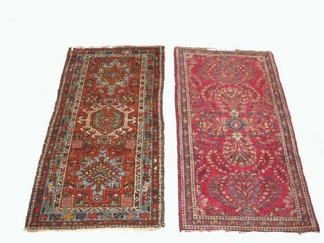 2759: Two rugs, , A Sarouk, West Persia, circa 1925, 3