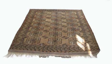 2760: Ersari Turkoman carpet, west turkestan, circa lat