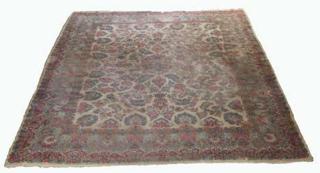 2763: Kerman carpet, southeast persia, circa mid 20th c