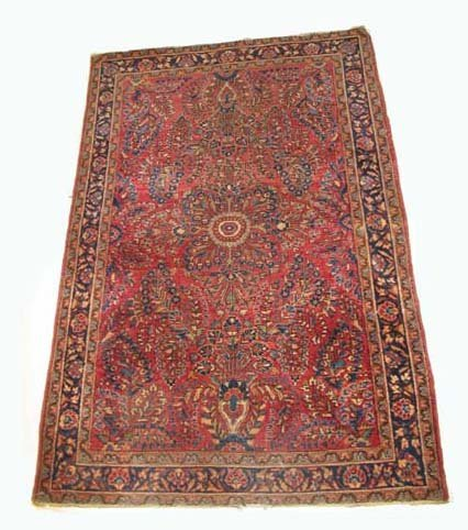 2764: Two rugs, , A Sarouk rug, West Persia, circa 1920