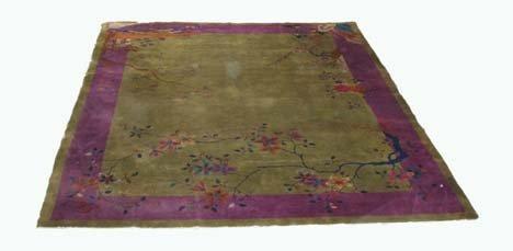 2767: Chinese Nichols carpet, circa 1930, 11 ft. 5 in.