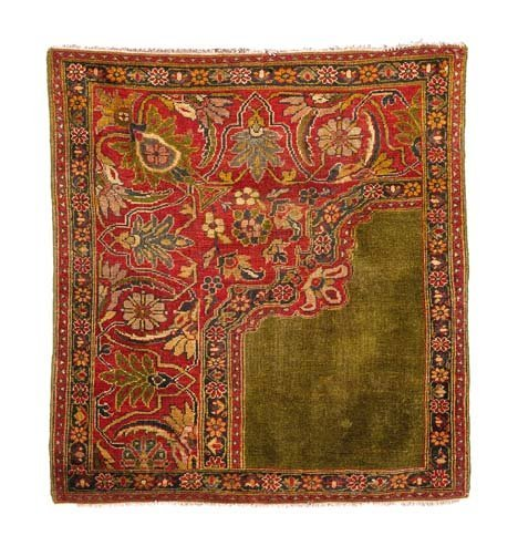 2772: Sultanabad Wagireh rug, possibly Ziegler,, west p