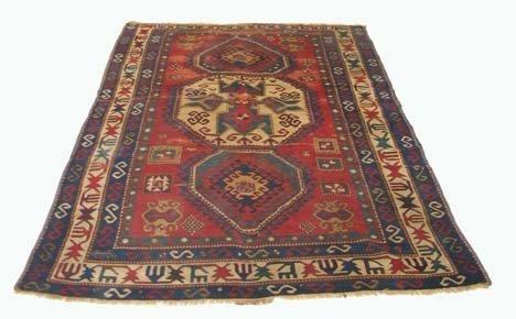 2811: Lori Pambak Kazak rug, southwest caucacus, circa