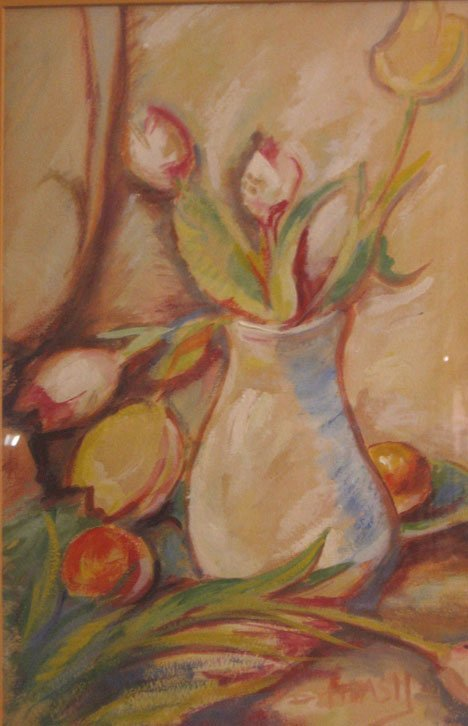 267: STILL LIFE WITH FLOWERS, , Indistinctly signed low