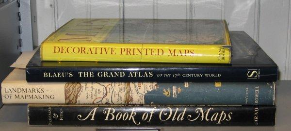 1015: 4 vols.  Cartography: Skelton R.A: Decorative Pri