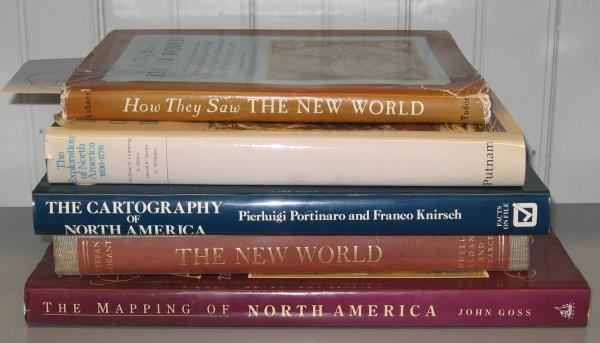 1017: 5 vols. Cartography & C - American: Goss, John. T