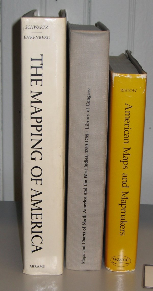 1018: 3 vols. Cartography - American: Schwartz, Seymour