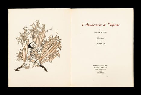 1043: 1 vol. (Alastair, illustrator.) (Black Sun Press.