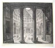 1523: 1 piece. Etching. Piranesi, Giovanni Battista. [V