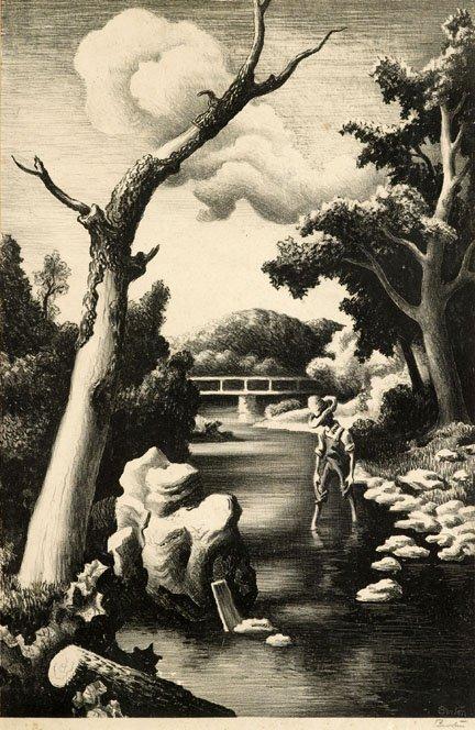2004: THOMAS HART BENTON, (AMERICAN 1889-1975), SHALLOW