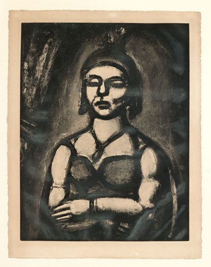 2071: GEORGES ROUAULT, (FRENCH 1871-1958), DES ONGLES E