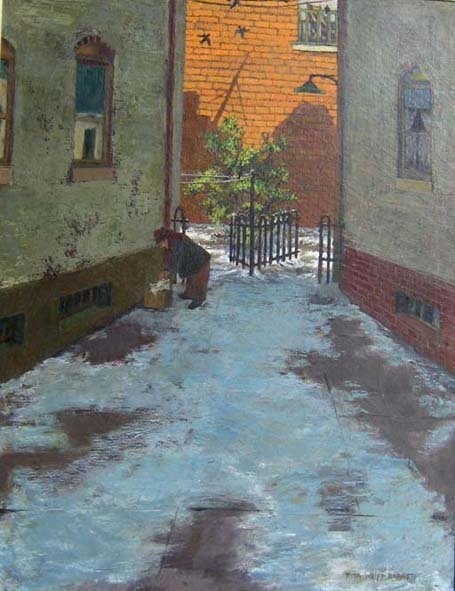2224: RITA WOLPE BARNETT, (AMERICAN 20TH CENTURY), THE