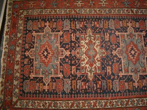 398: KARADJA RUG Northwest Persia, ca. 1900 Approx. 4 f