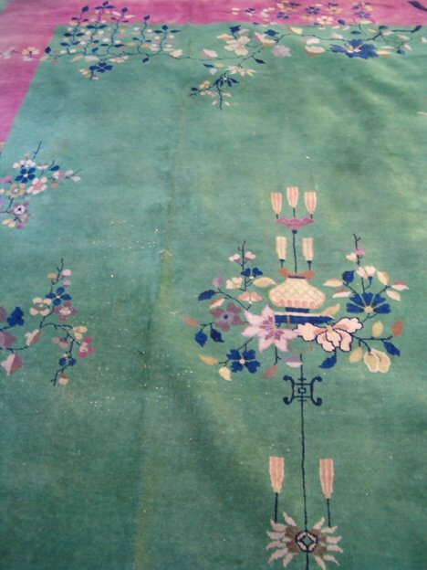 403: CHINESE CARPET Ca. 1930 Approx. 11 ft. 7 in. x 8 f