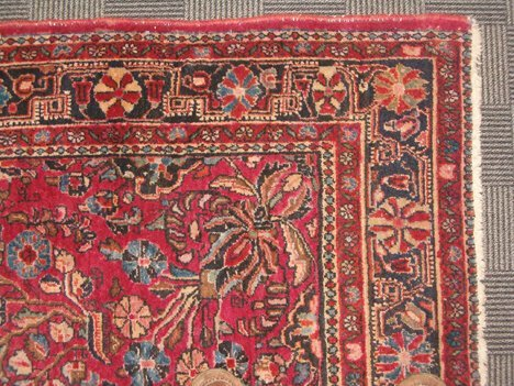 405: SAROUK RUG West Persia, 2nd quarter 20th c. Approx