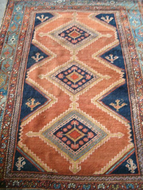 408: MALAYER RUG West Persia, 2nd quarter 20th c. Appro