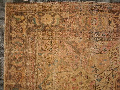 410: SAROUK FEREGHAN RUG West Persia, late 19th c. Appr