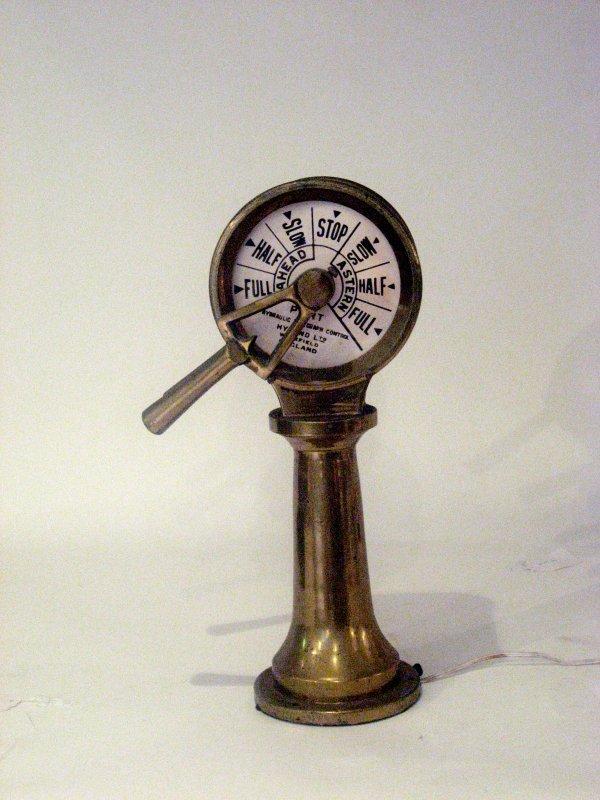 9: Ship's brass order telegraph, hyland ltd., wakefield