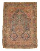 2720 Tabriz prayer rug northwest persia circa 1900