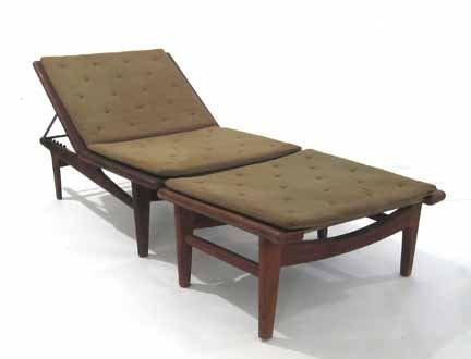 2098: HANS J. WEGNER, (DANISH 1914-2006), Lounge chair