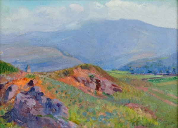 3021: HIPPOLYTE PETITJEAN, (FRENCH 1854-1929), LA VALLE