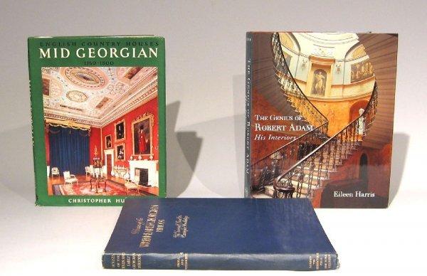 10: 3 vols. Architecture - British Georgian: Small, Jun