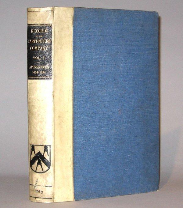 13: 1 vol. Marsh, Bower, editor. Records of The Worship