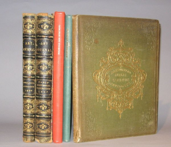 19: 5 vols. 19th-Century Exhibitions - Architecture, Fi