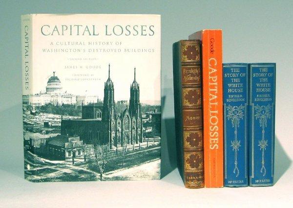23: 5 vols. (1 wrappers) Washington, D.C. - Architectur