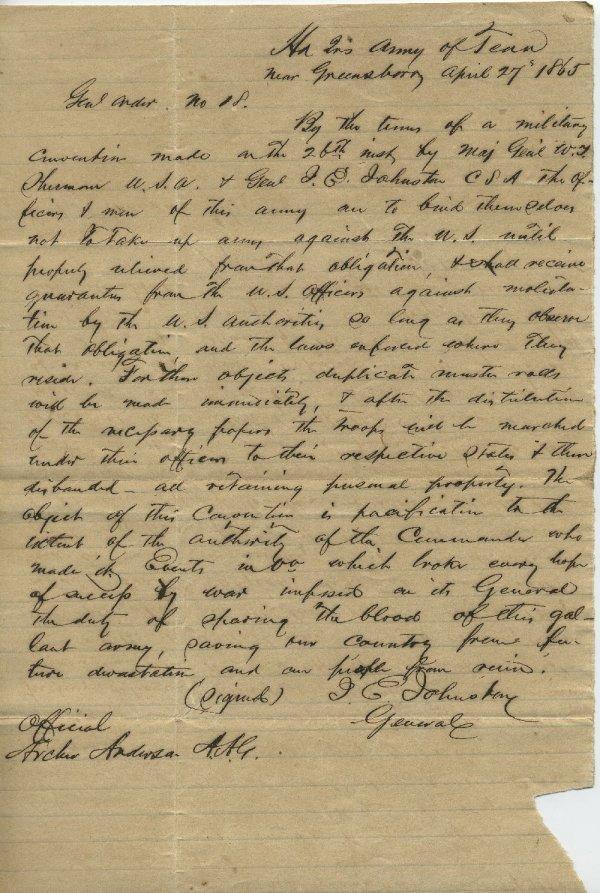 454: 3 pieces. American Civil War Manuscript Documents.