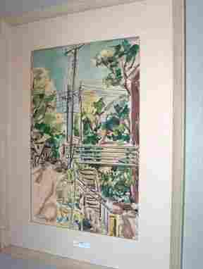 MALCOLM EDGAR CASE American 'Bridge With Telephon