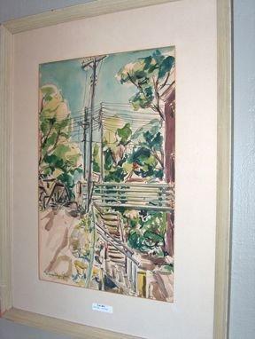 5404: MALCOLM EDGAR CASE American 'Bridge With Telephon