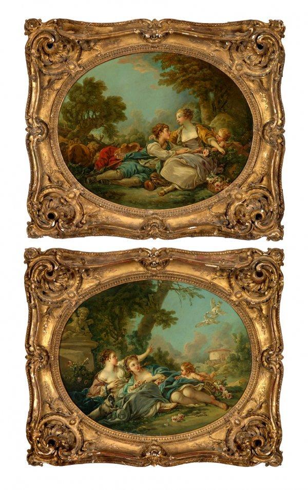 3: AFTER FRANCOIS BOUCHER, (FRENCH 1703-1770), PASTORAL