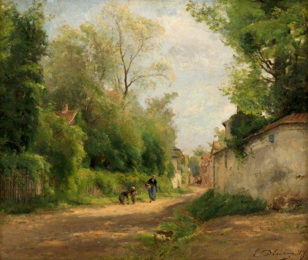 12: LOUIS-LUCIEN D'EAUBONNE, (FRENCH LATE 19TH CENTURY)