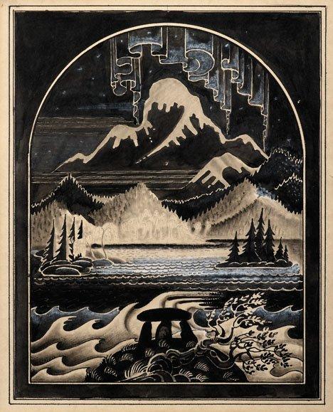 19: KAY RASMUS NIELSEN, (DANISH 1886-1957), ILLUSTRATIO