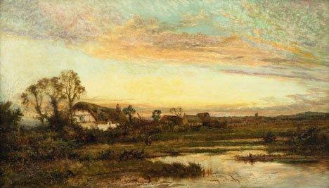 21: DANIEL SHERRIN, (BRITISH 1868-1940), FIGURES BY A C