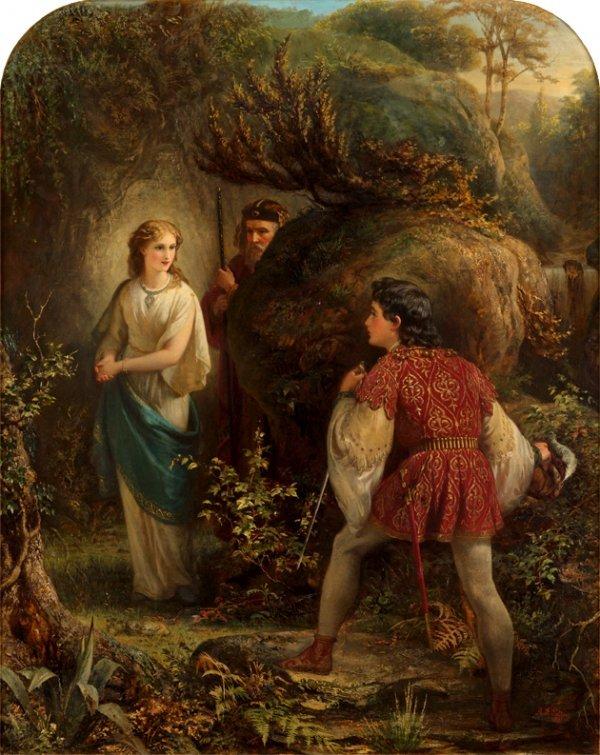 23: ALFRED FOWLER PATTEN, (BRITISH 1826-CA. 1888), MIRA
