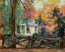 125: ALFRED RICHARD MITCHELL, (AMERICAN 1888-1972), 'AT
