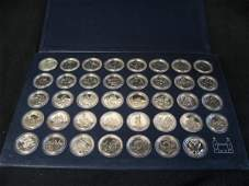 1205 Set of Royal Mint sterling silver Freedom Coins
