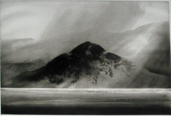 1: NORMAN ACKROYD, (BRITISH B. 1938) THREE ETCHINGS WIT