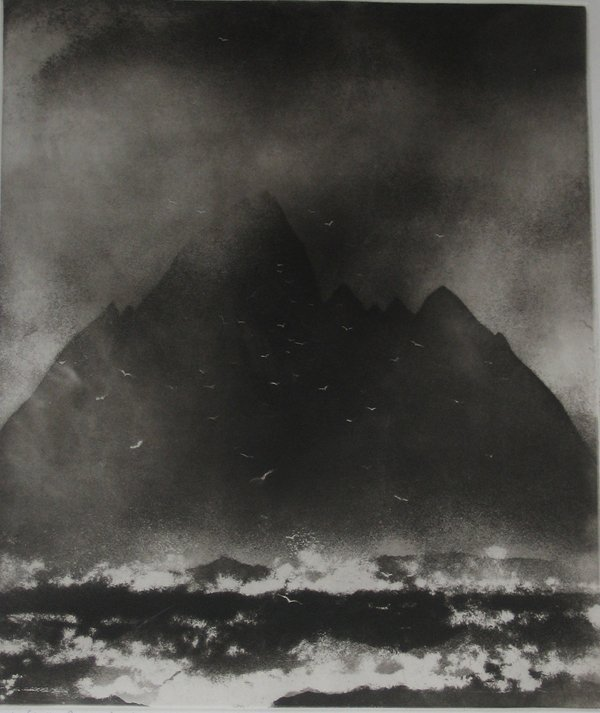 4: TWO PRINTS NORMAN ACKROYD, (BRITISH B. 1938), LITTLE