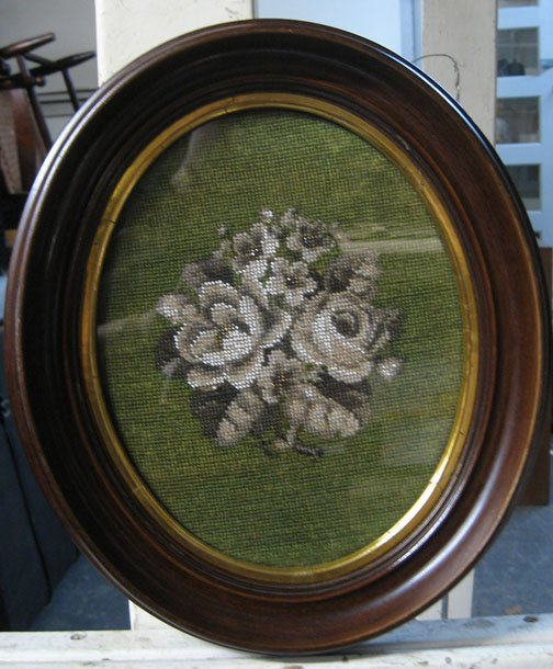 602: Seven piece Group of Gilt Frames, Valentines and N