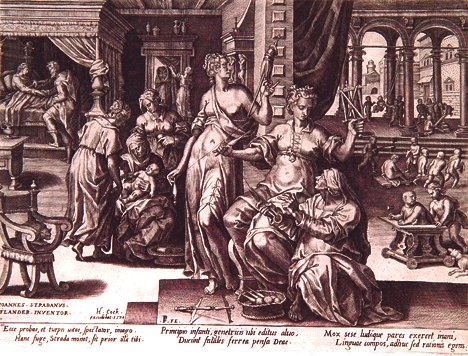 3: (AFTER) JAN VAN DER STRAET, called STRANDANUS (Flemi