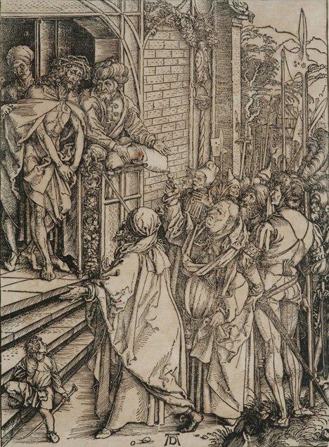 6: ALBRECHT DURER (German 14-71-1528) Ecce Homo from Th
