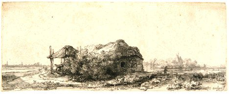8: REMBRANDT HARMENSZ VAN RIJN (Dutch 1606-1669) Landsc