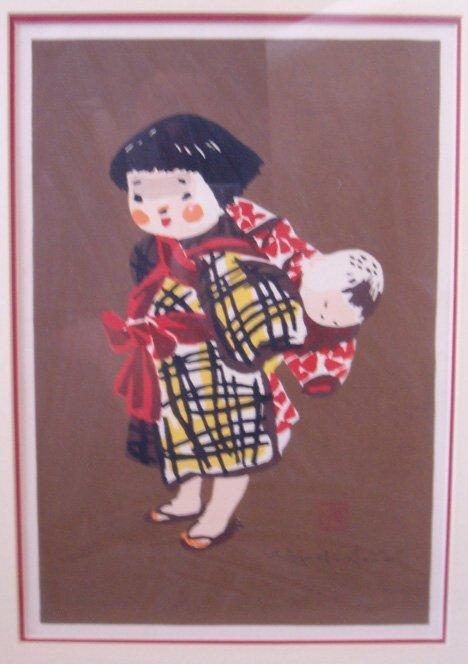 18: KIYOSHI SAITO (Japanese 1907-1997) Two prints. Sibl
