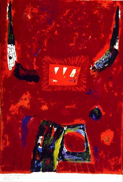 20: KUMI SUGAI (Japanese 1919-1996) God of Fire