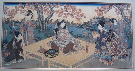 23: (UTAGAWA KUNISADA) TOYOKUNI III (Japanese 1786-1875