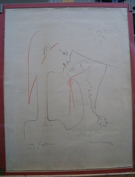 74: JEAN COCTEAU (French 1889-1963) Two Figures