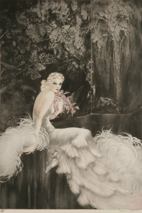 131: LOUIS ICART (French 1888-1950) Orchids